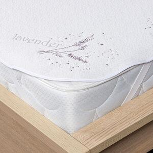 4Home Lavender Chránič matrace s gumou, 160 x 200 cm