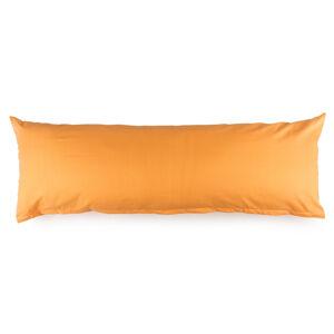 4Home Povlak na Relaxační polštář Náhradní manžel oranžová, 45 x 120 cm