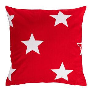 4Home Povlak na polštářek Stars red , 40 x 40 cm