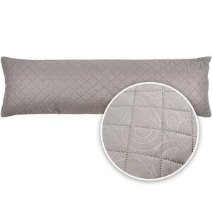 4Home Povlak na relaxační polštář Náhradní manžel Orient šedá, 45 x 120 cm