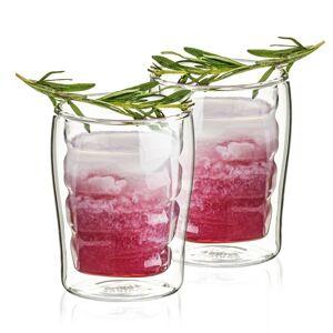 4Home Termo sklenice Wave Hot&Cool 200 ml, 2 ks