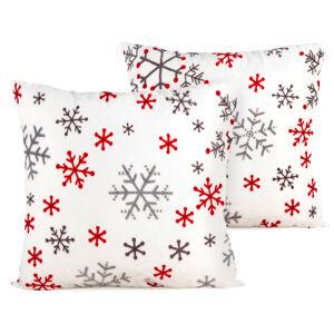 4Home Vánoční povlak na polštářek Snowflakes