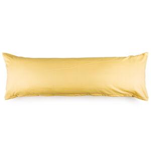 4Home povlak na Relaxační polštář Náhradní manžel žlutá, 50 x 150 cm, 50 x 150 cm