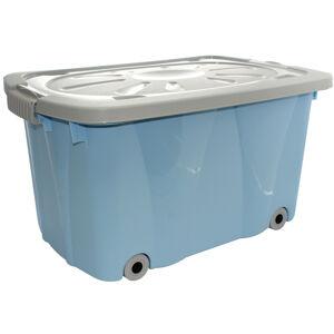 Altom Úložný box pojízdný, modrá