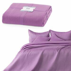 AmeliaHome Přehoz na postel Carmen lilac, 220 x 240 cm