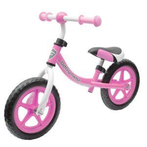 Baby Mix Dětské odrážedlo kolo Twist, růžová