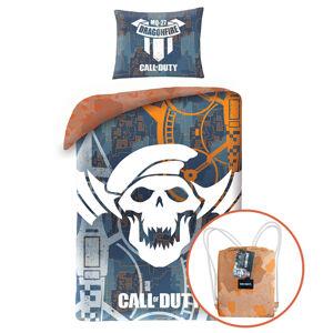 Herding Bavlněné povlečení Call of Duty, 140 x 200 cm, 70 x 90 cm + dárek zdarma
