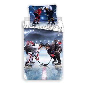 Jerry Fabrics Bavlněné povlečení Hokej, 140 x 200 cm, 70 x 90 cm