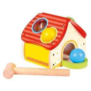 Bino hračka pro nejmenší zatloukačka domeček