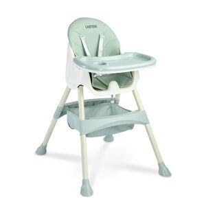 Caretero Jídelní židlička 2v1 Bill mint, 63 x 75 x 92 cm
