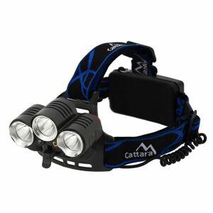Cattara LED 400lm (1x XM-L+2x XP-E) Čelovka