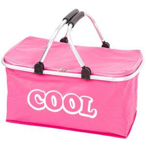 Chladicí košík růžová, 48 x 28 x 24 cm