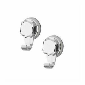 Háčky do koupelny bez vrtání Compactor - Bestlock, nosnost až 4 kg, 2 ks
