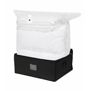Compactor Black Edition vakuový úložný box s vyztuženým pouzdrem - XXL 210 litrů, 50 x 65 x 27 cm