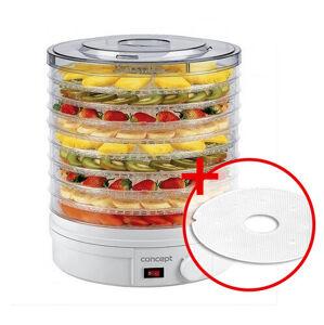 Concept SO-1020 elektrická sušička ovoce + dárek sušící síto na bylinky k