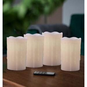 DecoKing Sada voskových LED svíček s dálkovým ovladačem