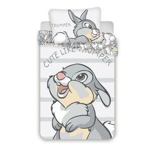 Jerry Fabrics Dětské bavlněné povlečení do postýlky Thumper 02 baby, 100 x 135 cm, 40 x 60 cm