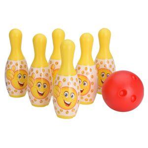 Dětský bowlingový set Smajlíci