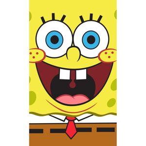 Carbotex Dětský ručník Sponge Bob Face, 30 x 50 cm