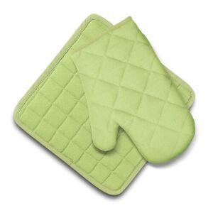 Domarex Kuchyňská sada Ollie chňapka a podložka zelená