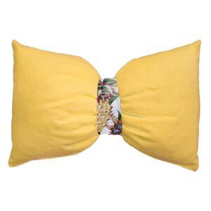 Domarex Polštářek Arco Tropical žlutá, 30 x 50 cm