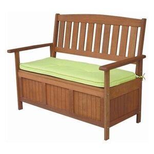 Dřevěná lavice DIANA s úložným prostorem ALDO