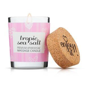 Enjoy it! Masážní svíčka Tropic sea salt, 70 ml