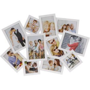 Fotorámeček People na 11 fotografií, bílá
