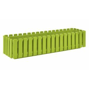 PLASTKON Truhlík FENCY plastový zelený - 75cm