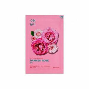 Holika Holika Pure Essence Mask Sheet - Rose hydr. platýnková maska s extrak. z divoké růže 23 ml