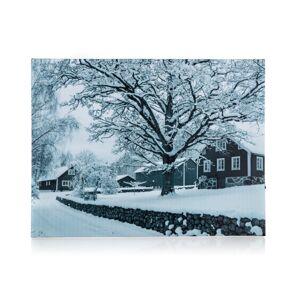 Home Decor LED Obraz na plátně Winter day, 40 x 30 cm
