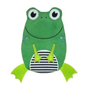 HUGO FROSCH Láhev na horkou vodu Öko 0,8 L velur žába