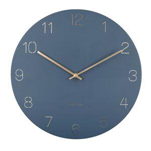 Karlsson 5762BL designové nástěnné hodiny, pr. 40 cm