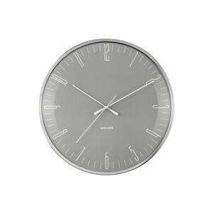 Karlsson 5754GY nástěnné hodiny