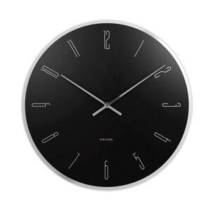 Karlsson 5800BK 40cm nástěnné hodiny