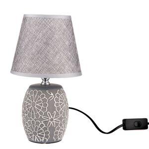 Keramická stolní lampa Flower, 13 x 27 x 13 cm