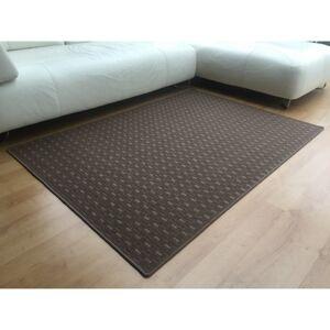 Vopi Kusový koberec Valencia hnědá