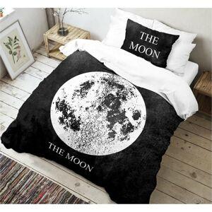 Kvalitex Bavlněné povlečení Moon 3D, 140 x 200 cm, 70 x 90 cm