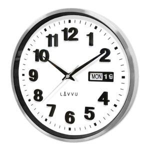 LAVVU DATE METAL LCT4050 kovové hodiny