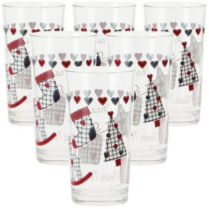 Mäser 6dílná sada sklenic na long drink CHRISTMAS GIFT, 250 ml