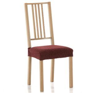 Forbyt Multielastický potah na sedák na židli Petra červená, sada 2 ks