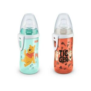 NUK First Choice Láhev Active Cup DISNEY Medvídek Pú, 300 ml
