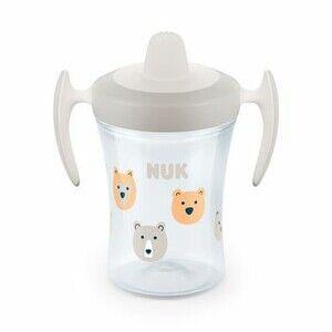 NUK Dětský hrníček Trainer Cup 230 ml Bílý