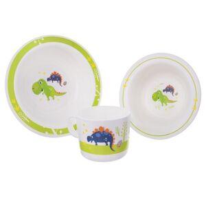 Orion 3dílna dětská jídelní sada Dino