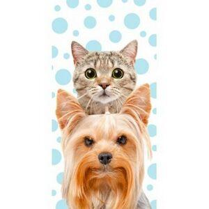 Halantex Osuška kočka a pes, 70 x 140 cm