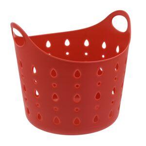 Plastový koš Cubal Libra 10 l, červená