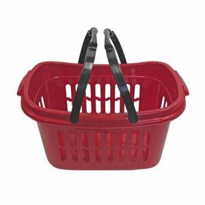 Plastový košík s madly, 48 x 28 x 24 cm