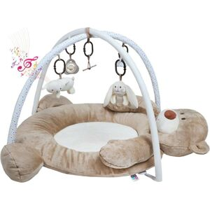 PlayTo hrací deka s melodií medvídek Hnědá