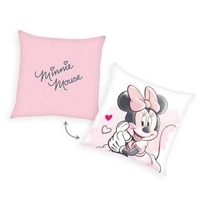 Herding Polštářek Minnie Mouse, 40 x 40 cm