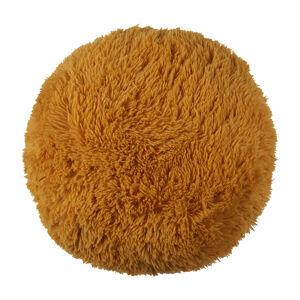 Bo-ma Trading Polštářek chlupatý Jáchym hořčicová, 50 cm